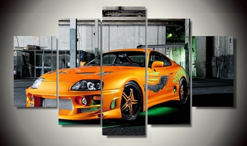 Framed Pictures Canvas Prints Toyota Supra Tuning Fast And