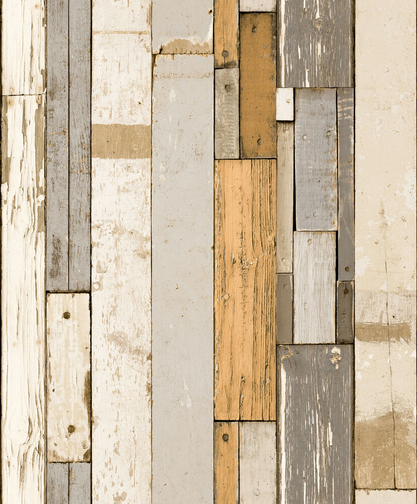 3d effect weathered old wood panel wall designer vinyl for 3d wood wallpaper