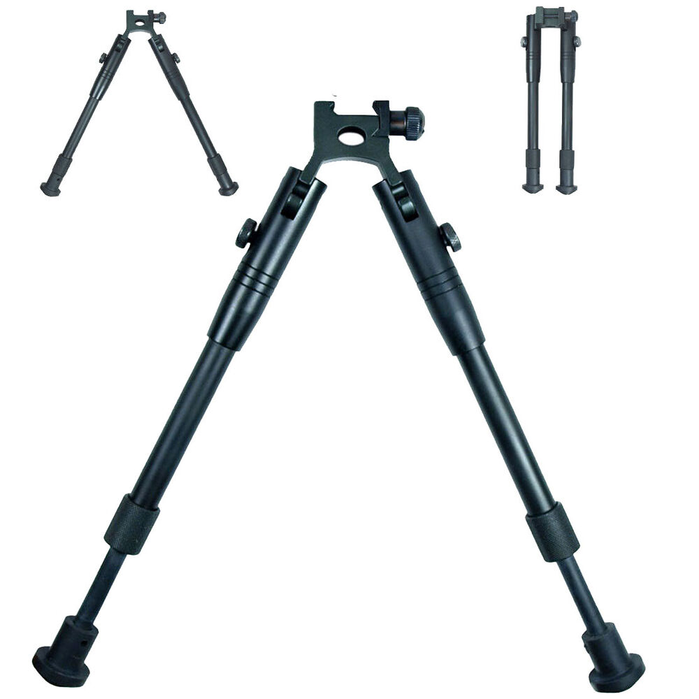 Universal Picatinny Rail Mount Adjustable Tactical Rifle Bipod | eBay