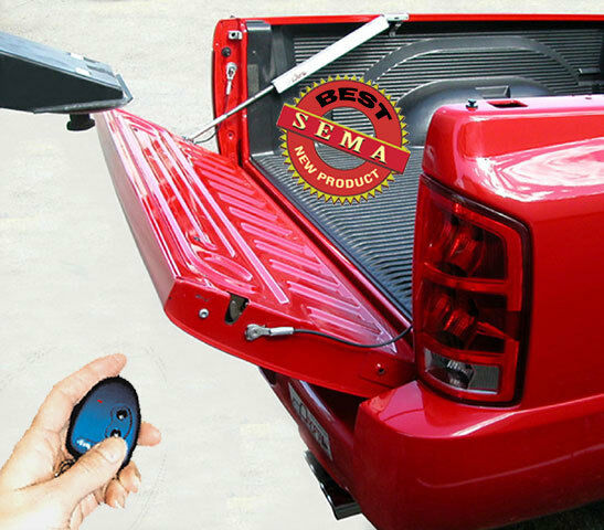 power pickup truck tailgate lift assist for towing rv vented tailgate ebay. Black Bedroom Furniture Sets. Home Design Ideas