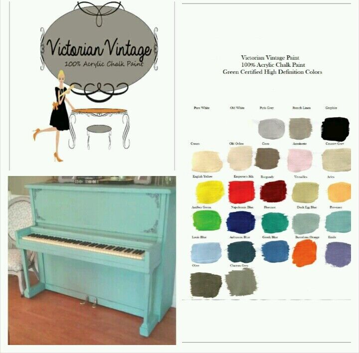 Chalk Style Paint By Victorian Vintage 100 Acrylic Chalk