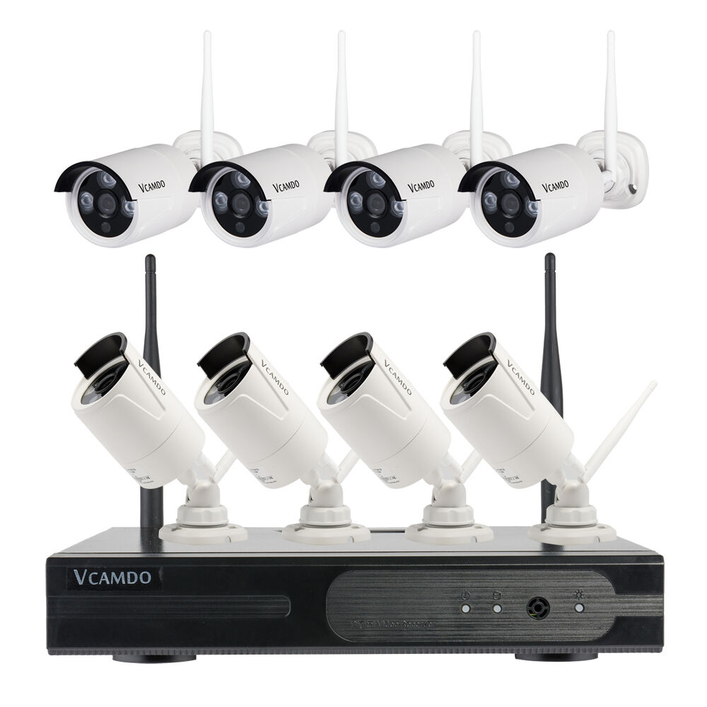 vcamdo outdoor wireless best home video surveillance systems easy simple operate ebay. Black Bedroom Furniture Sets. Home Design Ideas
