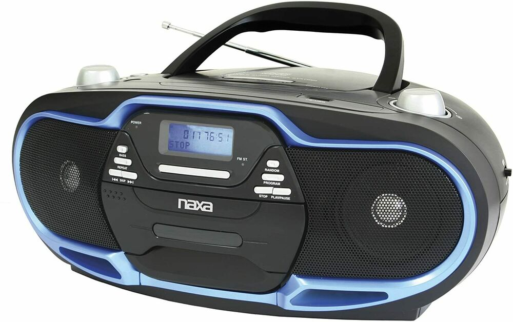 naxa npb257 portable mp3 cd player am fm stereo radio. Black Bedroom Furniture Sets. Home Design Ideas