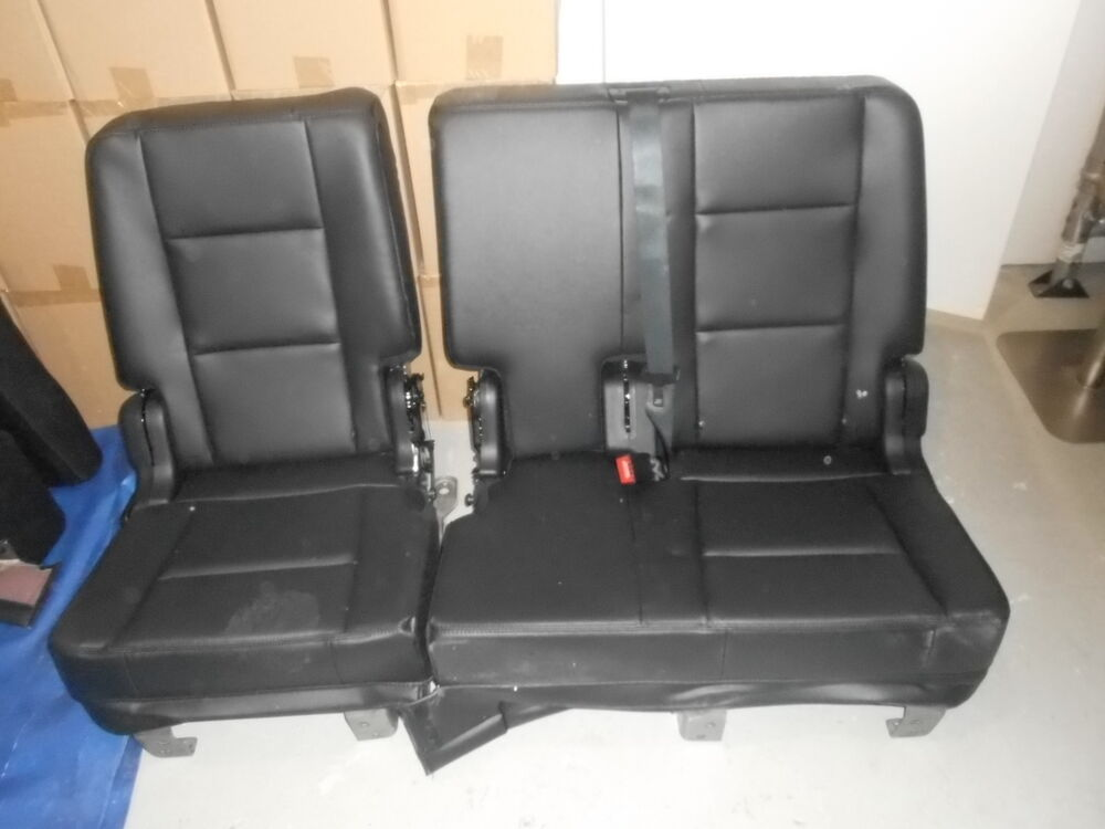 Ford Bench Seat Upholstery ~ Ford explorer leather second row bench seat