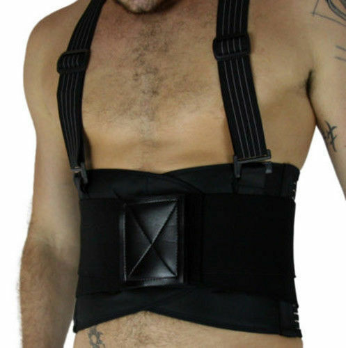Lumbar Support Suspenders Weight Lifting Waist Recovery