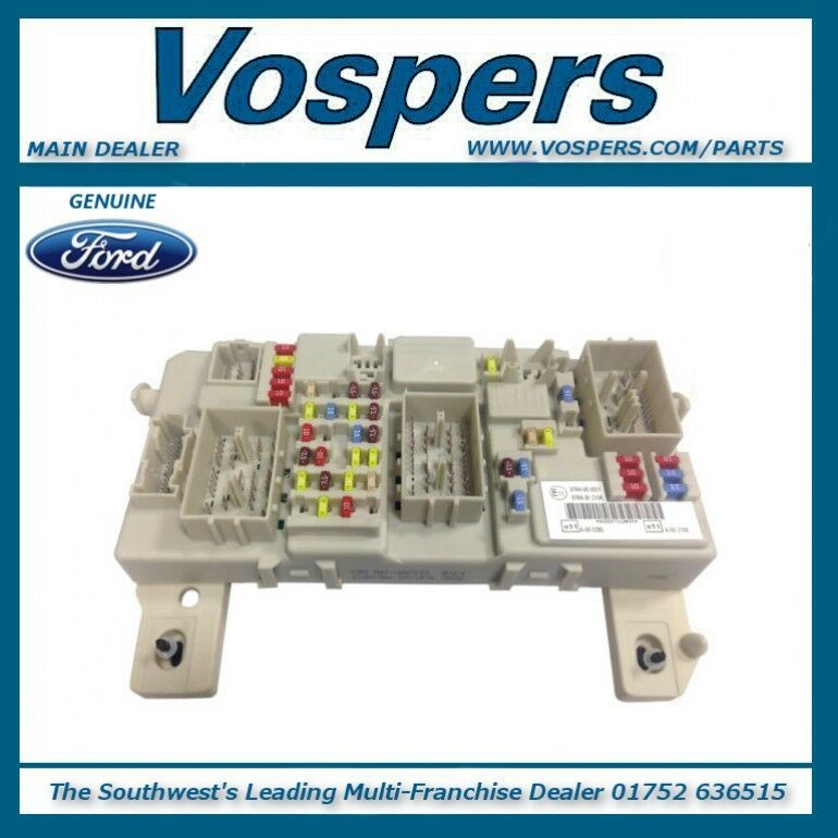 genuine ford focus inc c-max & kuga gem module / fuse box ... ford c max fuse box location ford c max 05 fuse box