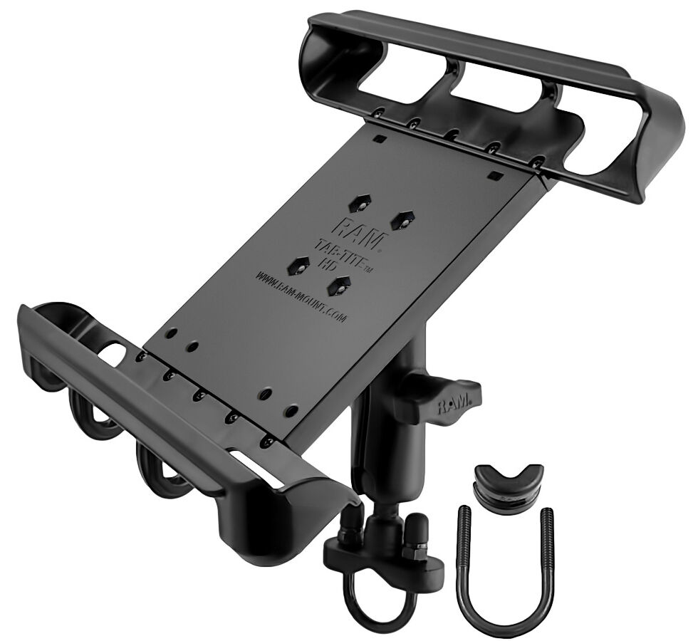 Ram Mount Wheelchair Handlebar Rail Ipad 10 Quot Tablet Heavy