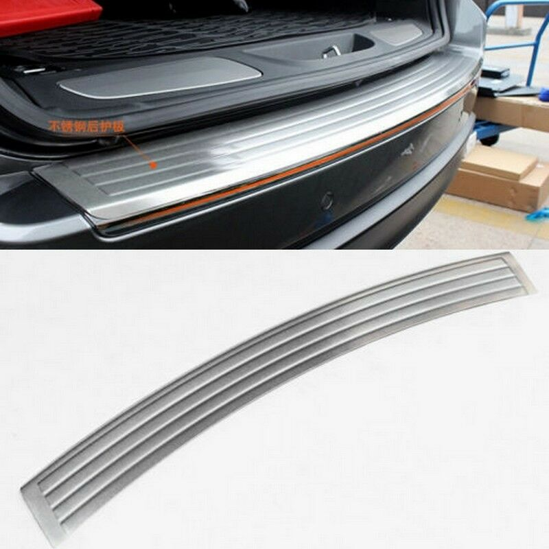 Rear bumper outside door sill plate scuff for 2011 2015 for Rear exterior door