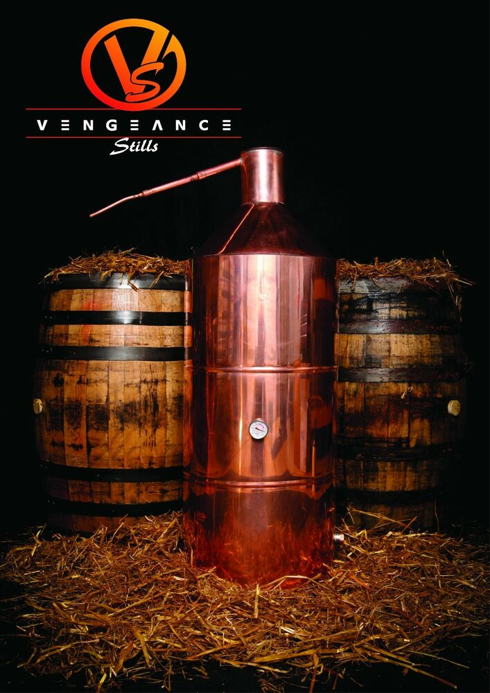 40 Gallon Copper Whiskey Moonshine Still From Vengeance