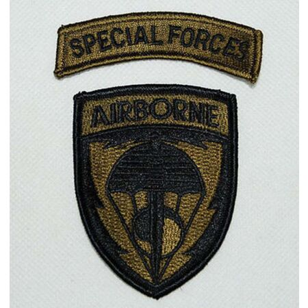 img-US United States Special Forces Airborne Embroidered Military Patch - US163