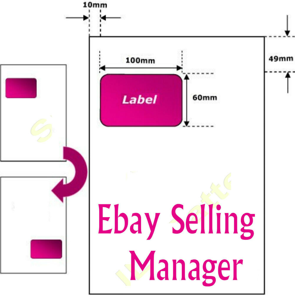 A4 EBAY INVOICE ADDRESS LABELS PAPER INTERGRATED SMP