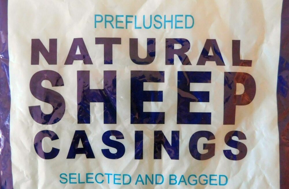 Large Pack Natural Sheep Lamb Casings Gut For 40 Lbs Of