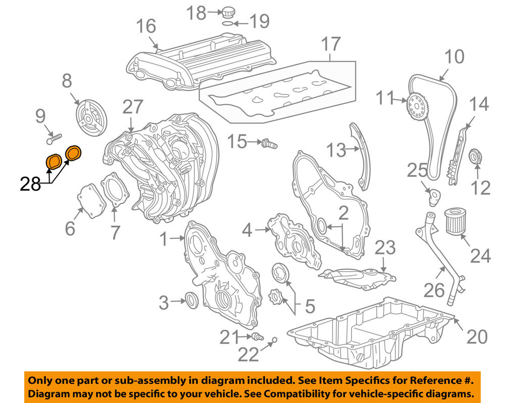 Gm Oem Engine Intake Manifold Gasket 24455112 Ebay Lsx 6 0 Diagram