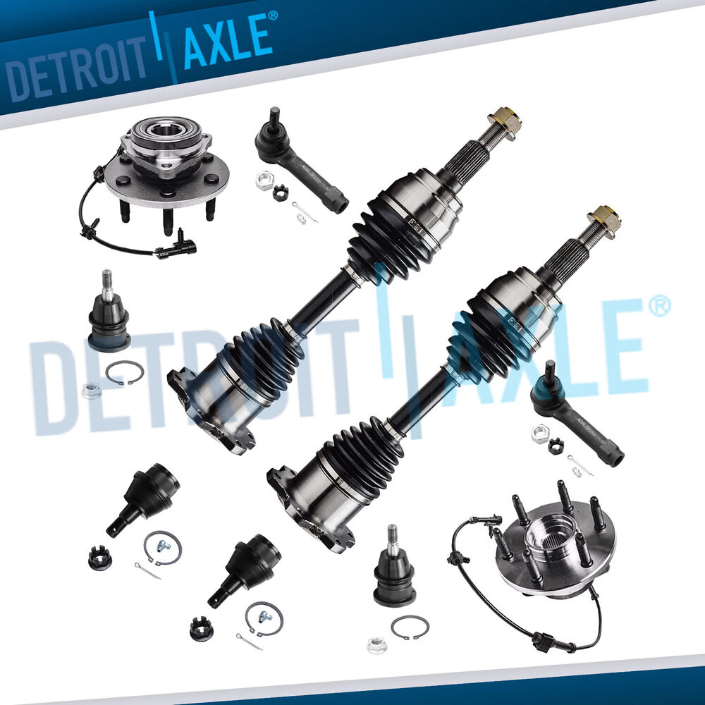 Gm 4x4 Front Axle Housing : Brand new pc front suspension axle kit for chevy
