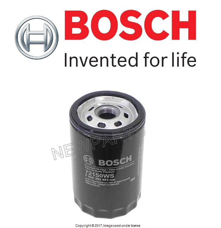 Oil Filter Bosch 06A115561B For Audi 90 100 200 A6 Beetle