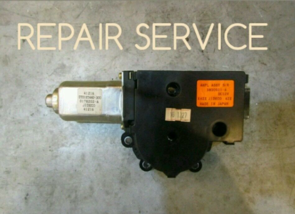 Lifetime warranty 5th bow motor repair service for nissan for Convertible motor repair price
