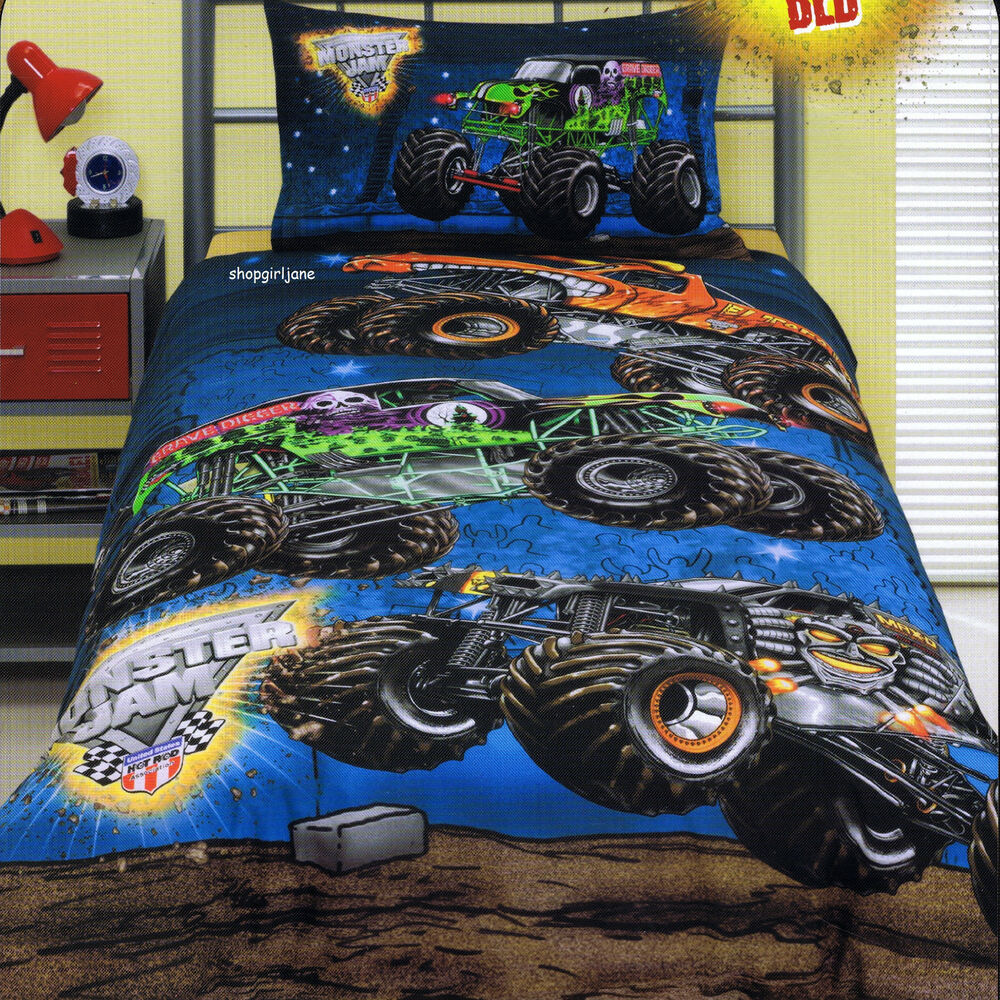Monster Twin Bedding Set
