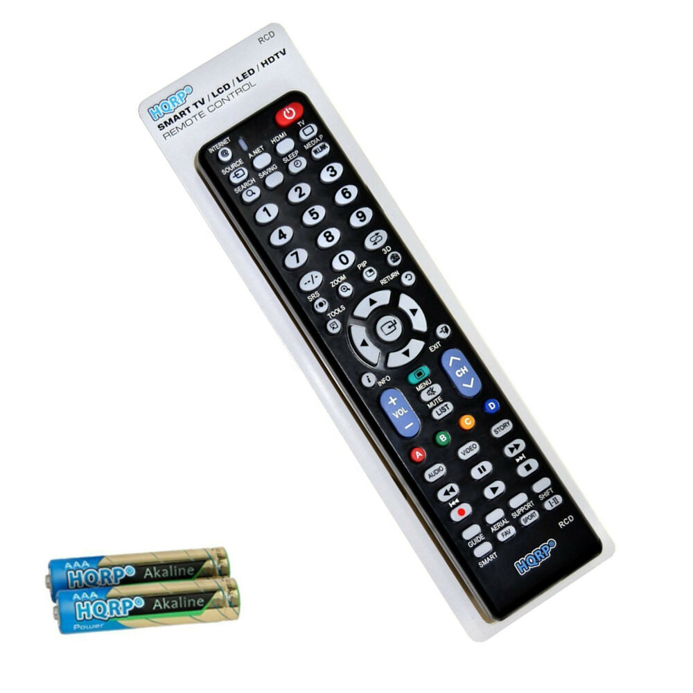 universal remote control for samsung un19 un46 series lcd led tv ebay. Black Bedroom Furniture Sets. Home Design Ideas