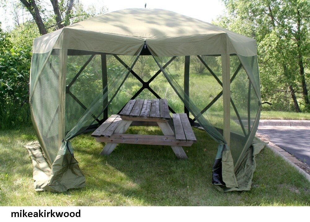 Quick Set Screen Canopy House Camping Picnic Shelter Tent