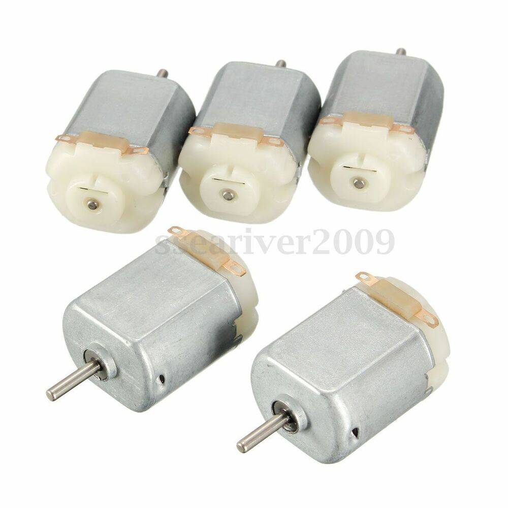 5pcs dc 3 6v mini miniature dc motor for remote control for Small dc electric motor