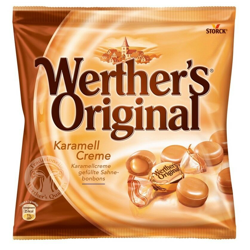 STORCK - Werthers Caramel & Cream Candy 225gr - German ...