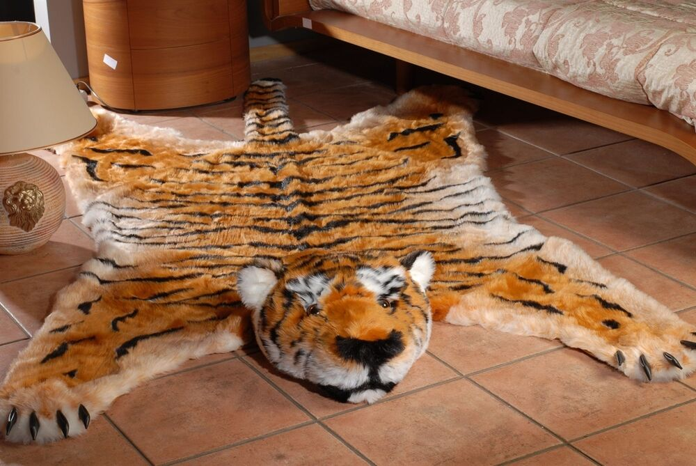 Fake Fur Tiger Skin Tigerskin Rug King Size Large 100 Quot 59