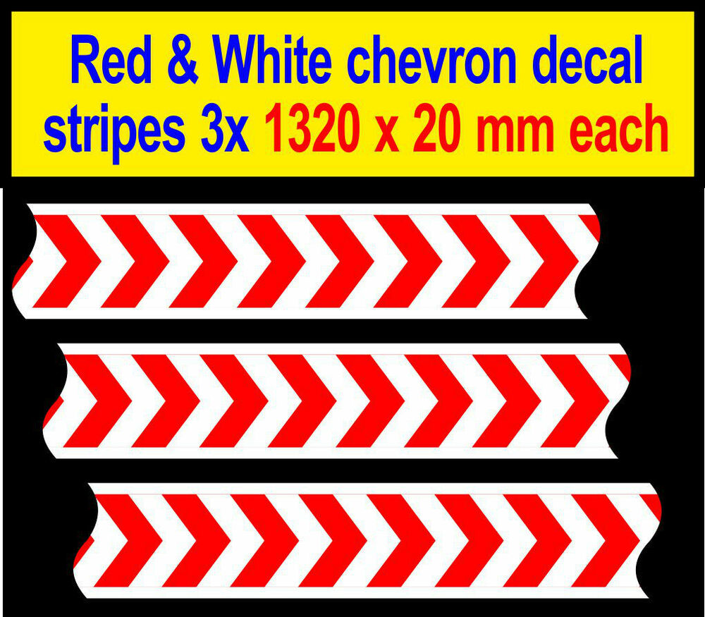 Details about 3960mm slot car scalextric barrier chevron adhesive sticker model race logo lego