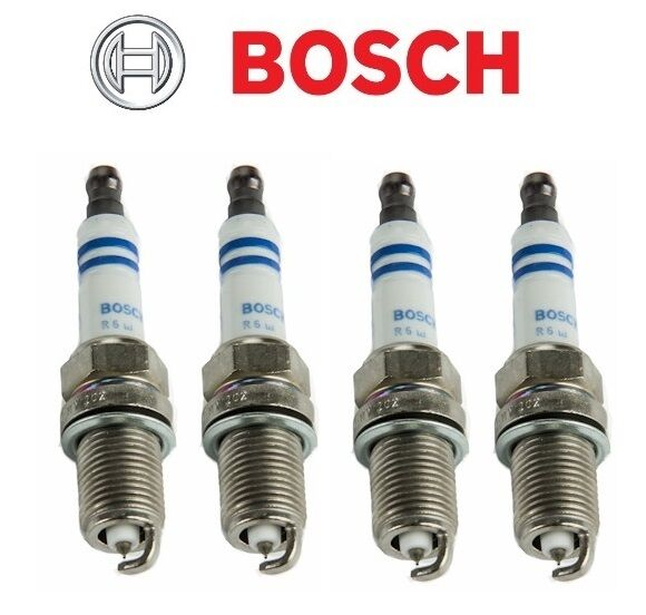 4 pcs spark plugs bosch platinum 6714 fits honda fit. Black Bedroom Furniture Sets. Home Design Ideas