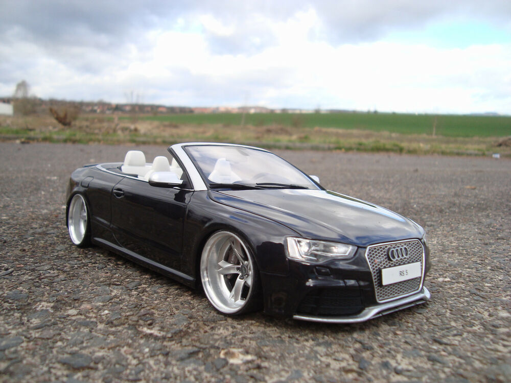 1 18 audi rs5 cabrio tiefer tuning mit 21 zoll audi s5. Black Bedroom Furniture Sets. Home Design Ideas