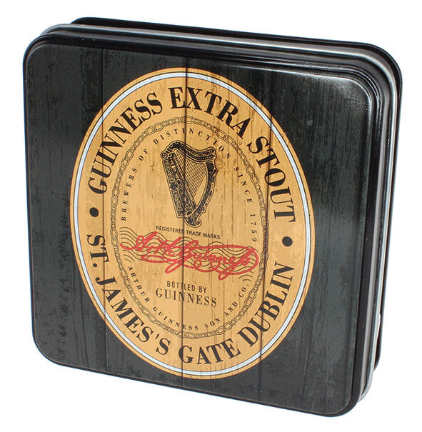 Guinness Gift Tin Of Fudge With The Heritage Extra Stout