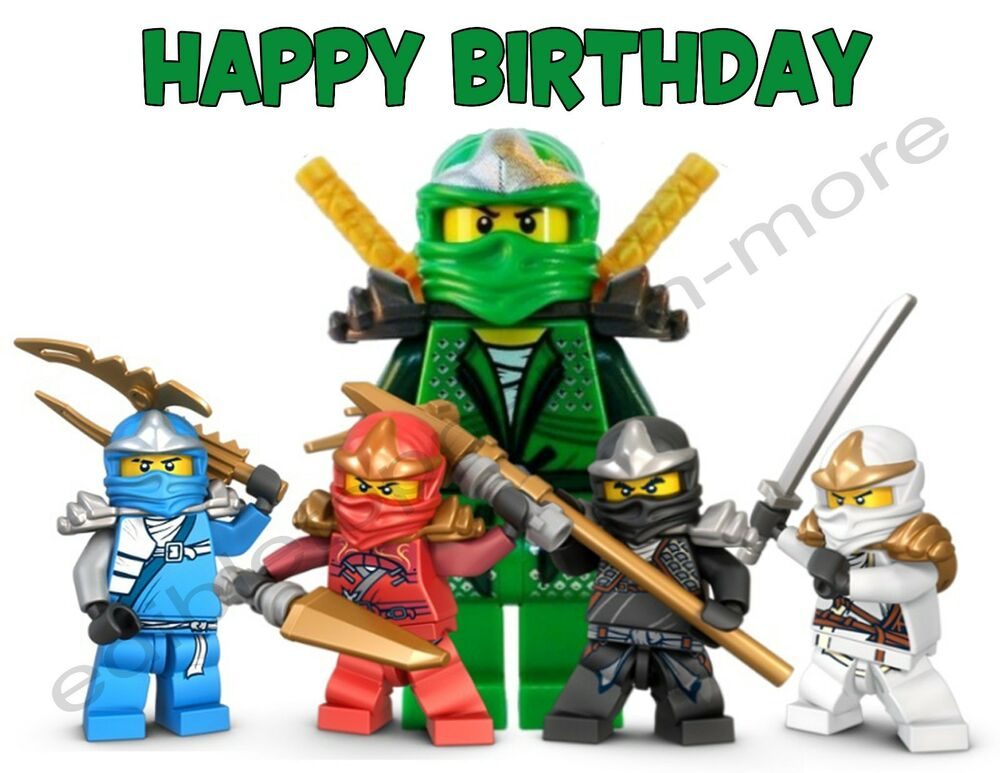 Cake Toppers Lego Movie