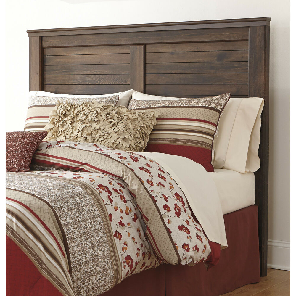 queen size panel headboard reclaimed vintage weathered. Black Bedroom Furniture Sets. Home Design Ideas