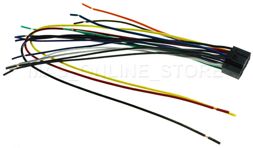 Wire Harness For Jvc Kd