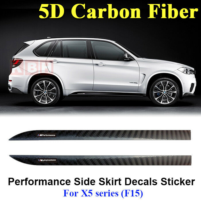 M Performance Side Skirt Stripe 5d Carbon Fiber Sticker