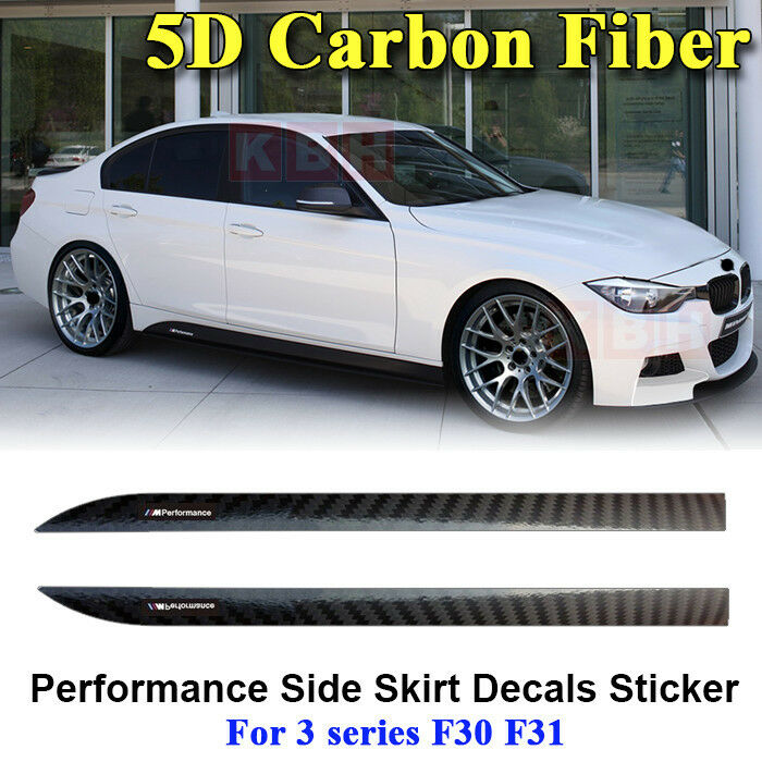 m performance side skirt stripe 5d carbon fiber sticker. Black Bedroom Furniture Sets. Home Design Ideas