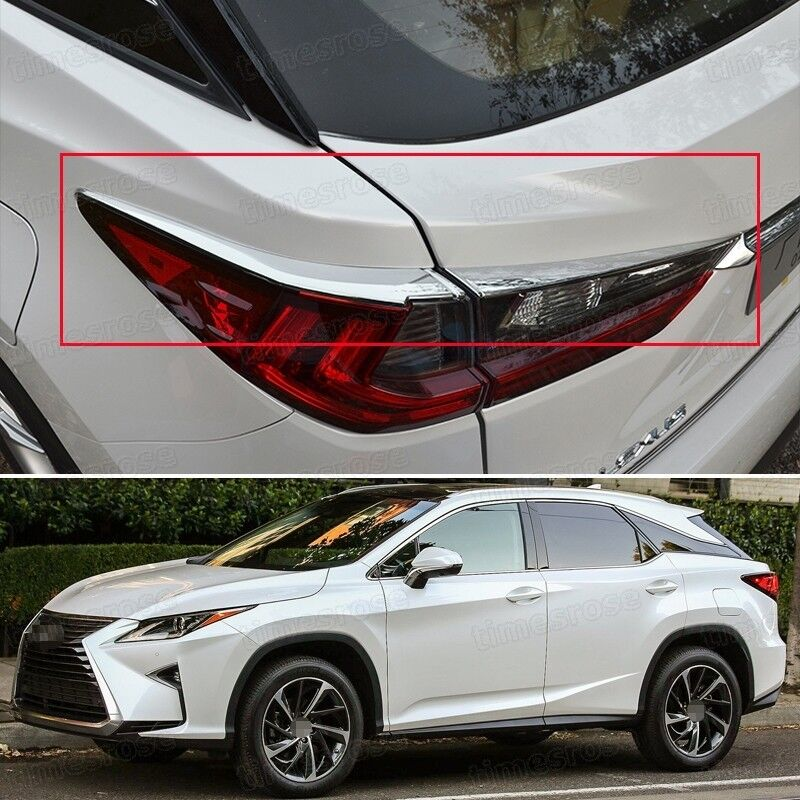 Lexus Crv: Chrome Rear Lamp Tail Light Cover Trim Fit For Lexus RX350
