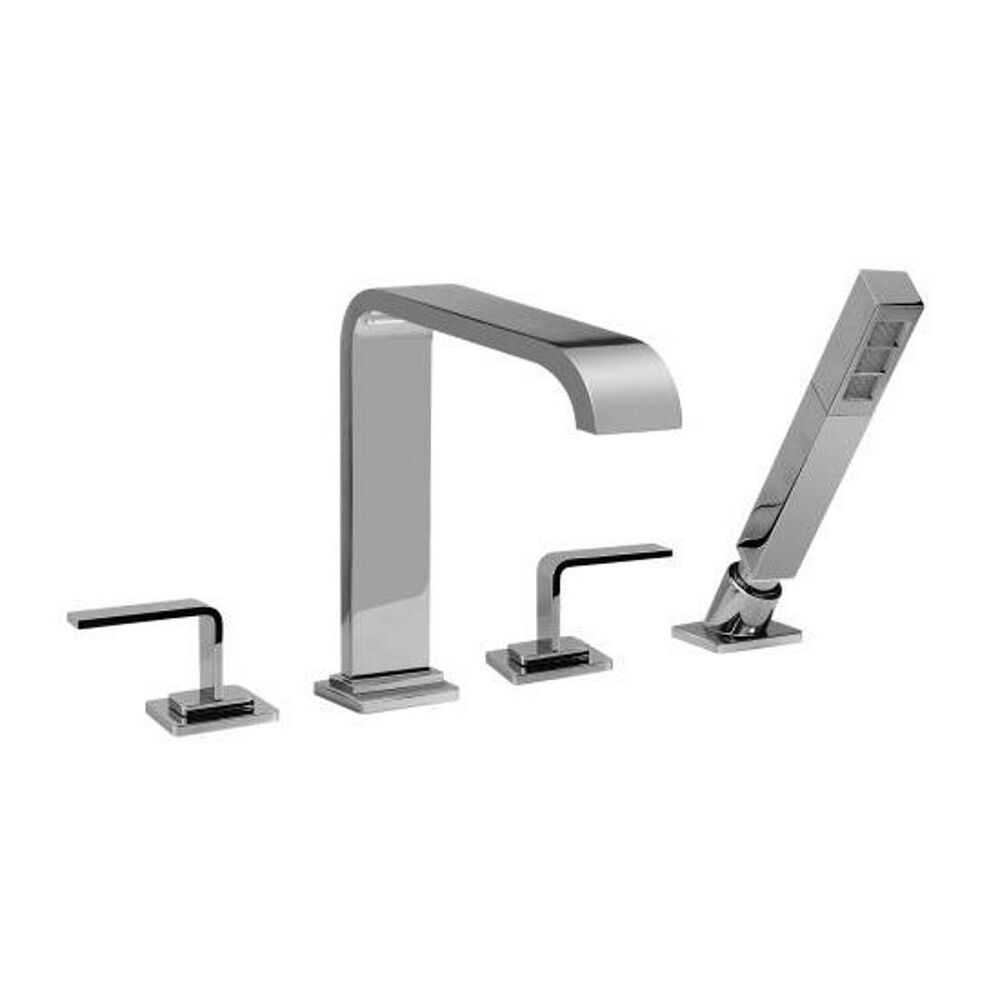 graff immersion roman tub filler faucet deck mount hand shower