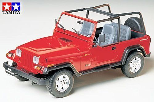 tamiya 1 24 jeep wrangler open top model kit 24154 ebay. Black Bedroom Furniture Sets. Home Design Ideas