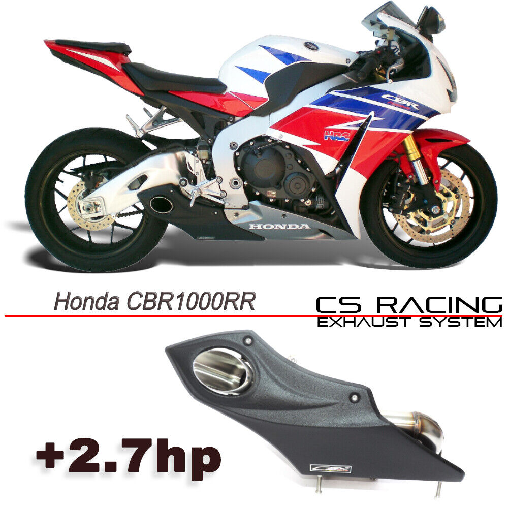 honda cbr1000rr 2015 16 exhaust muffler cs racing taylor made style cbr 1000 rr ebay. Black Bedroom Furniture Sets. Home Design Ideas
