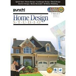 Punch home design studio for mac new sealed 664446901705 for Punch home design