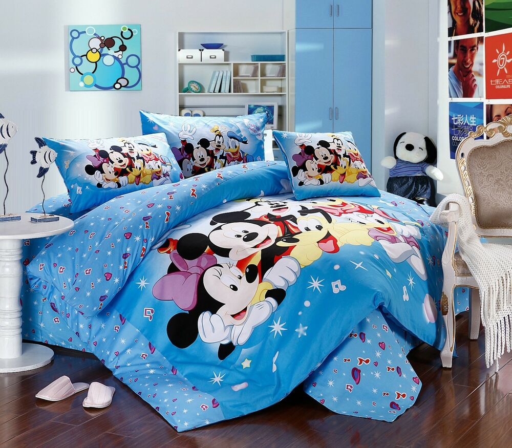 Disney Licensed Minnie Mouse 7pcs Twin Full Queen Size