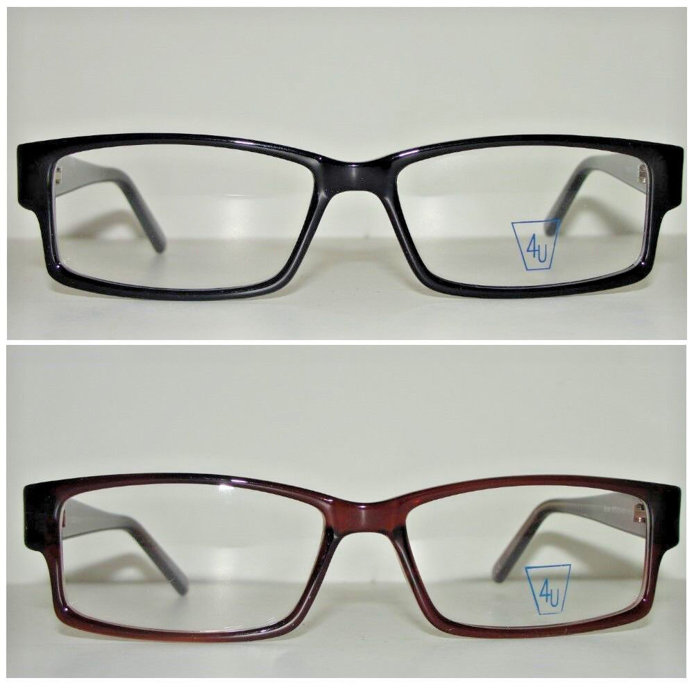 Men s European Eyeglass Frames : New Mens Glasses Optical Eyeglasses Frame Spectacles ...