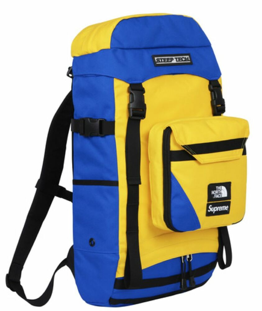 Supreme SS16 The North Face® Steep Tech Backpack Trans Antarctica Expedition Big | eBay