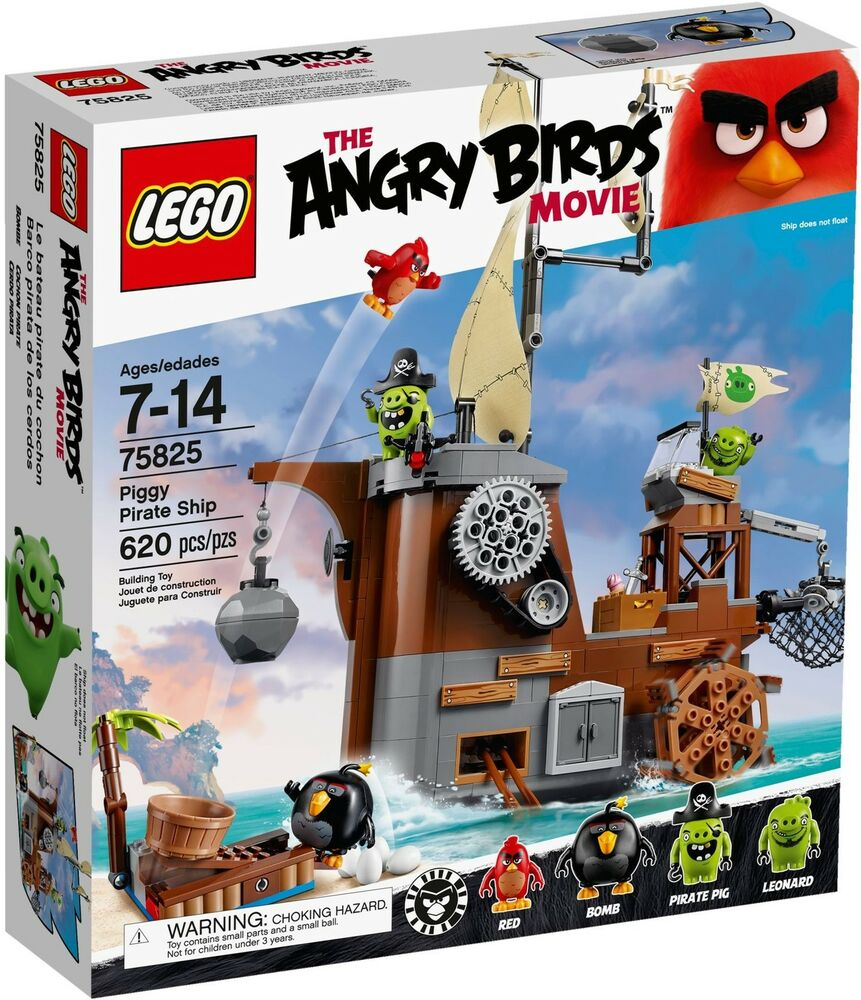 Lego Angry Birds 75825 Piggy Pirate SHIP Neu OVP  eBay