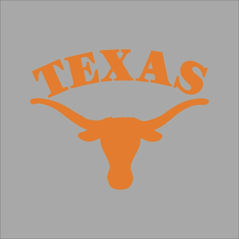 Texas Longhorns 3 Ncaa College Vinyl Sticker Decal Car