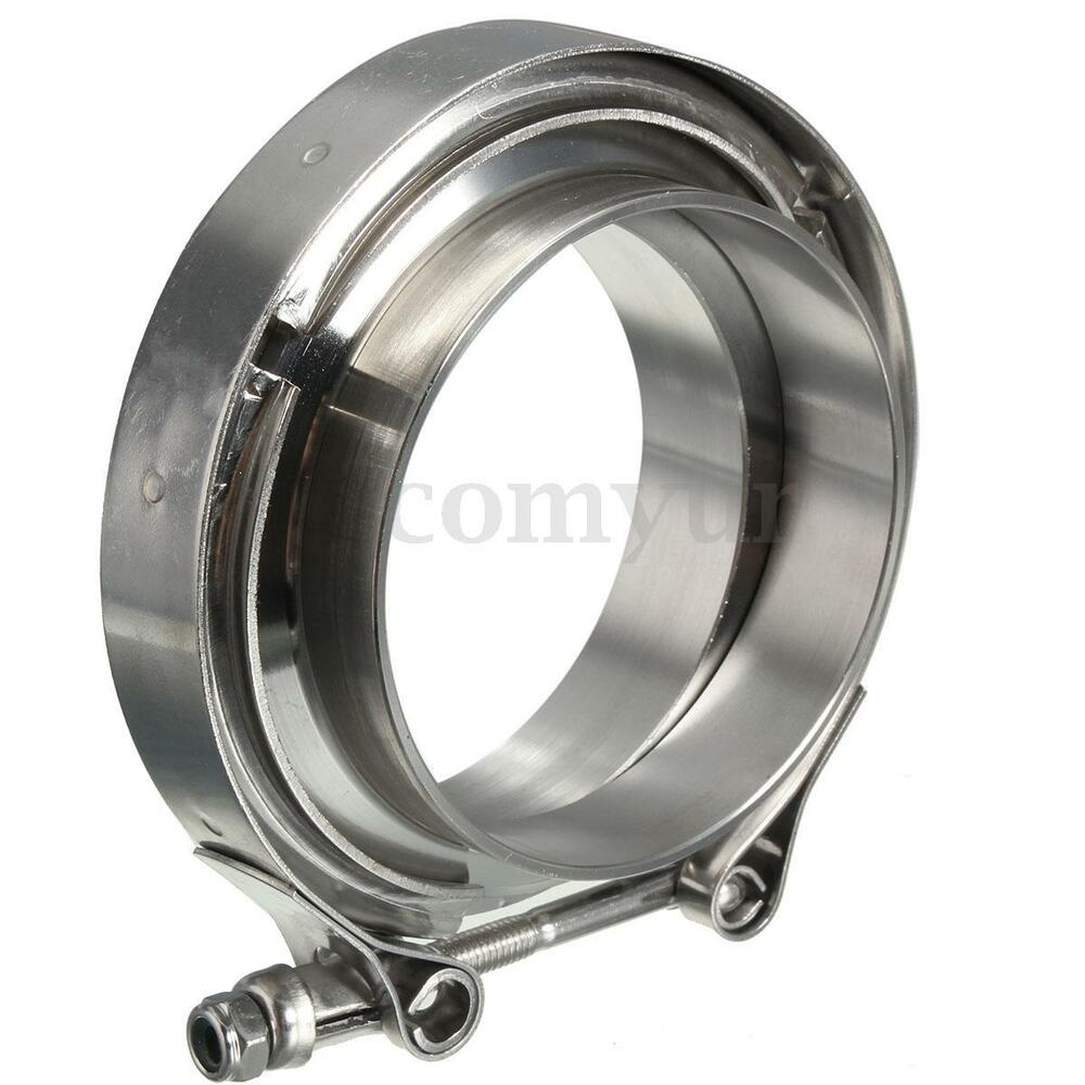 Stainless steel mm quot innet v band clamp flat flange