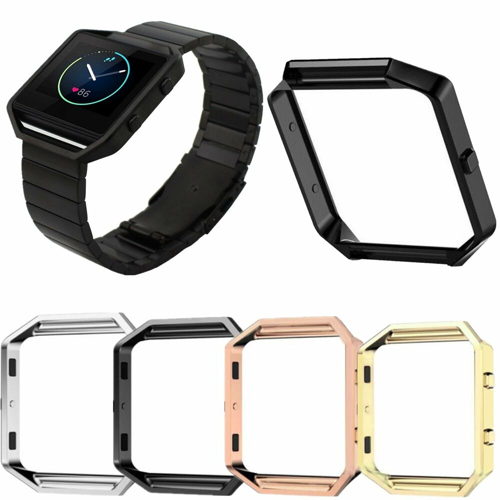 Stainless Steel Metal Watch Frame Holder Case Cover For