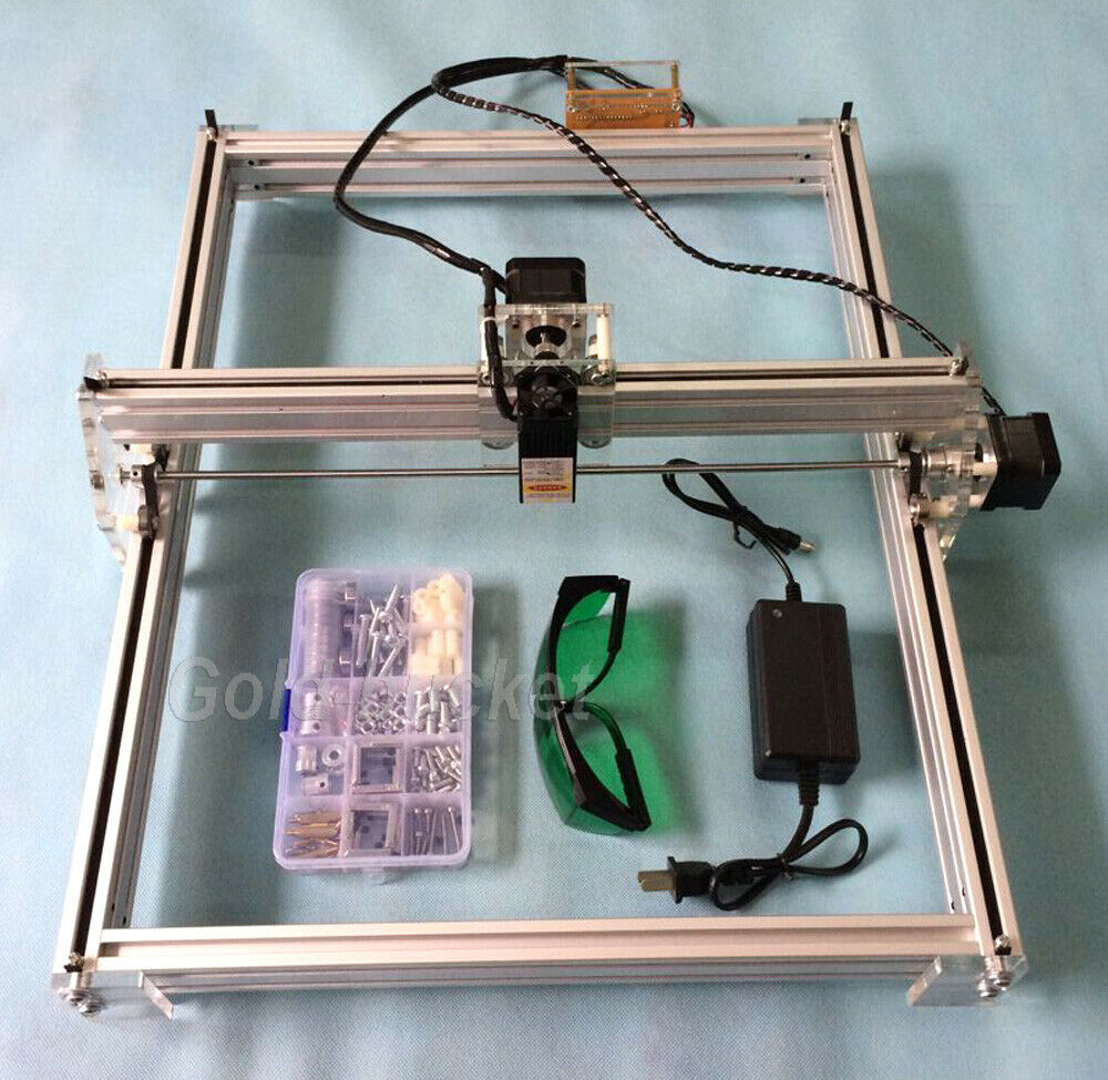 Mini Laser Engraving Machine 40x50cm Diy Logo Cutting