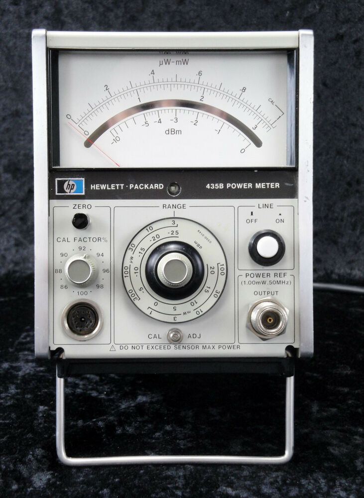 Analog Power Meter : Agilent keysight hp b analog power meter w ebay