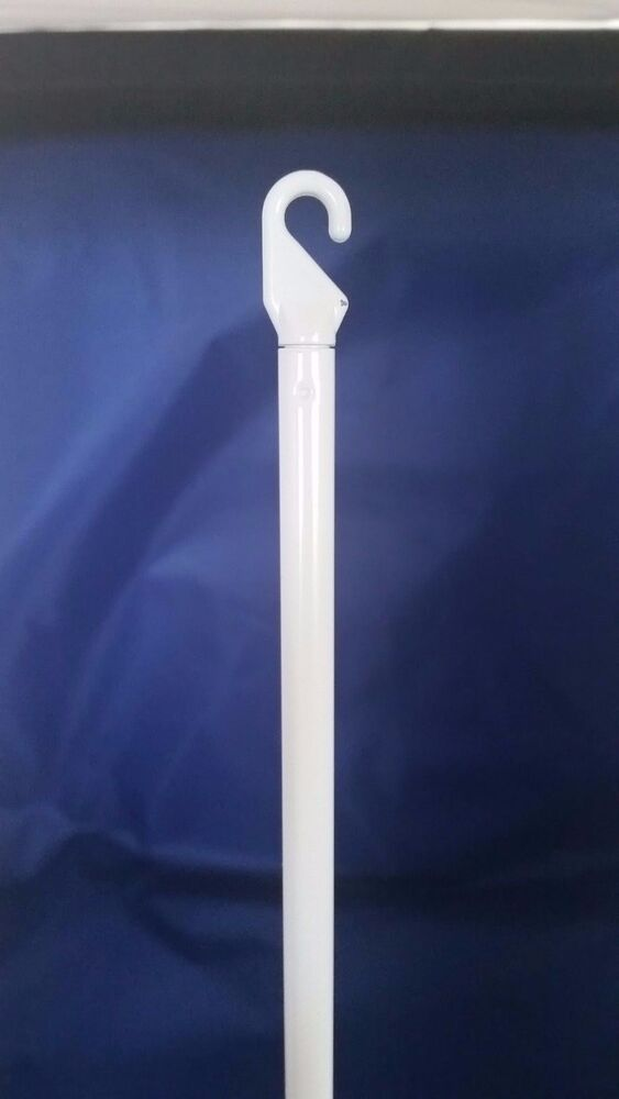 Vertical Wand Blind Part With Handle White Ebay